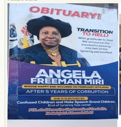Transition to hell: FULOKOJA staff celebrate the end of the tenure of outgoing VC