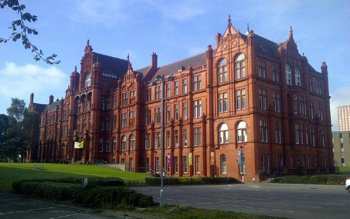 2020 International Excellence Award At University of Salford - UK