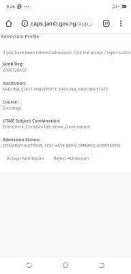 KASU 1st Batch Admission List, 2020/2021 now on JAMB CAPS