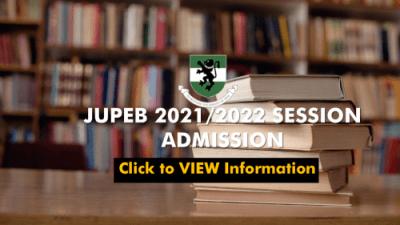 UNN JUPEB admission form for 2021/2022 session