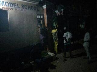 Nasarawa Jambites Spotted at 12:30am Scrambling to Complete UTME Registration Due to Poor Network and Limited Centers.