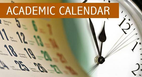 FUGASHUA Academic Calendar for 2019/2020 Session