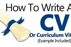 Learn How To Write A Good CV in Malawi