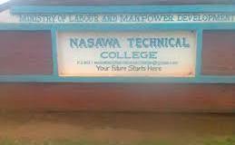 Nasawa Technical College Selection List