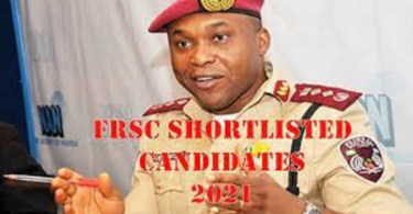 How To Check FRSC Shortlisted Candidate 2021/2022
