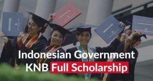 2017 Indonesian Government KNB Undergraduate & Masters Scholarships
