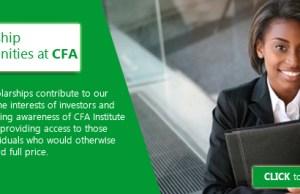 2017 CFA Institute Access Scholarship