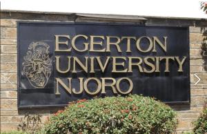 Egerton University Scholarships For Kenyans - Kenya, 2017