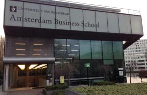 International Scholarships At Amsterdam Business School, Netherlands - 2018