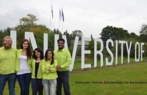 University Of Twente-ITC Foundation Scholarship - Netherlands, 2018