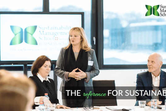 2018 Sustainability Management School Make It Happen Scholarship Contest, Switzerland