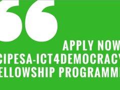 CIPESA-ICT4Democracy Academia Fellowship Programme 2018