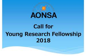 AONSA Young Fellowship For AONSA Young Research Fellowship for Young Scientists in the Asia-Oceania Region In The Asia-Oceania Region