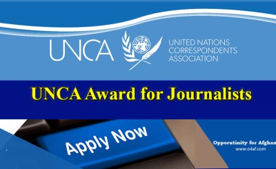 United Nations Correspondents Association Journalism Award
