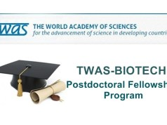 TWAS-BIOTEC Fellowship Programme For Young Scientists - Thailand