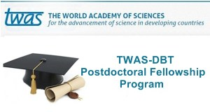 TWAS-DBT Fellowship Programme For Developing Countries