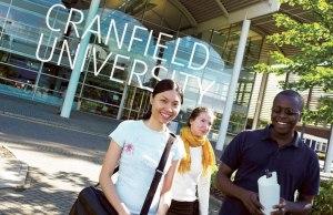 Great Scholarships At Cranfield University - UK