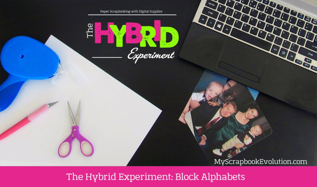 The Hybrid Experiment Block Alphabets