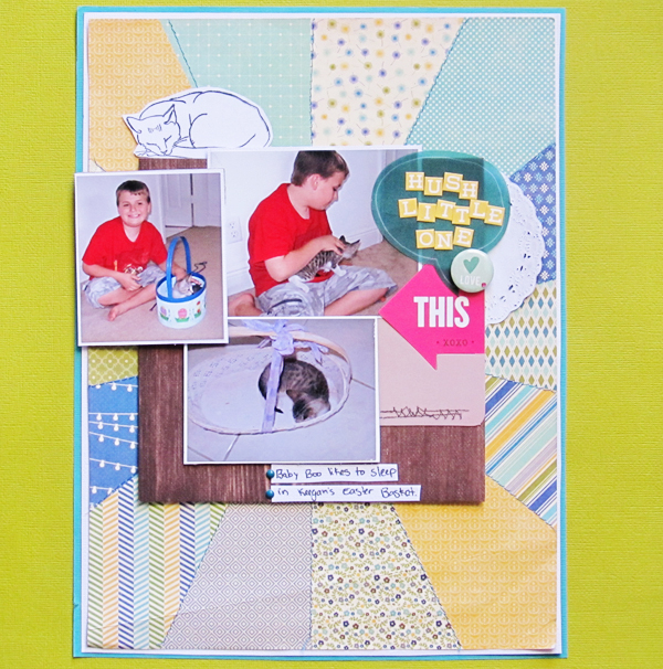 Scrapbooking with a Planner Advertisement