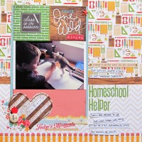Fitting it all in- Patterned Paper with Big Designs