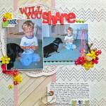Christy Strickler, When Story Inspires Titles, My Scrapbook Evolution for Get It Scrapped