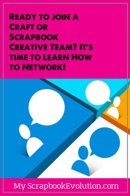 You are more likely to get picked for a creative team if you have been networking with others in your feild