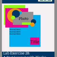 Lab Exercise 28: A Fast Layout with Blocks and Layers- Scrapbook Sketch