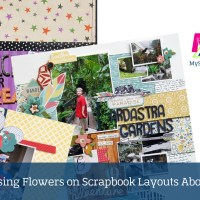 Scrapbooking Tips for using Flowers on Layouts about Boys
