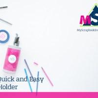 Organization DIY + Home Decor Challenge: DIY Quick and Easy Pen Holder