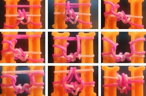 রাবার থেকে ব্রেসলেটগুলি কীভাবে বয়ন করা যায়: একটি বিস্তারিত বিবরণ সহ স্কিমগুলি