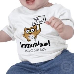 immunise tshirt
