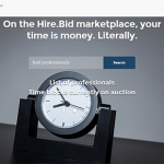 Convert Time and Expertise Into Money With Hire.Bid