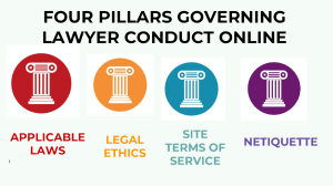 Ethics Lawyer Conduct Online