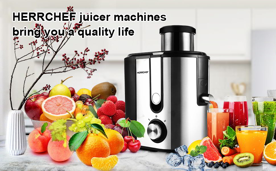 HERRCHEF Juicer Machine 1