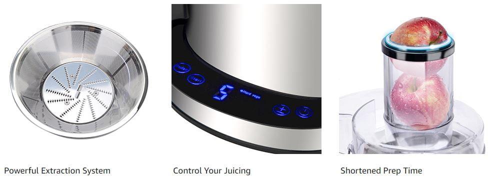 Somoya Centrifugal Juicers Extractor Juicer Machine 1