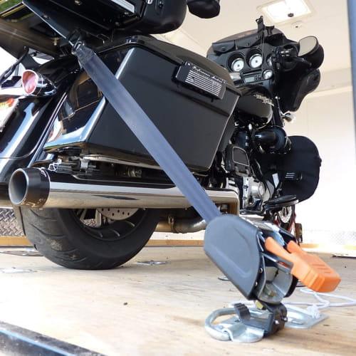 Deluxe Motorcycle Wheel Chock