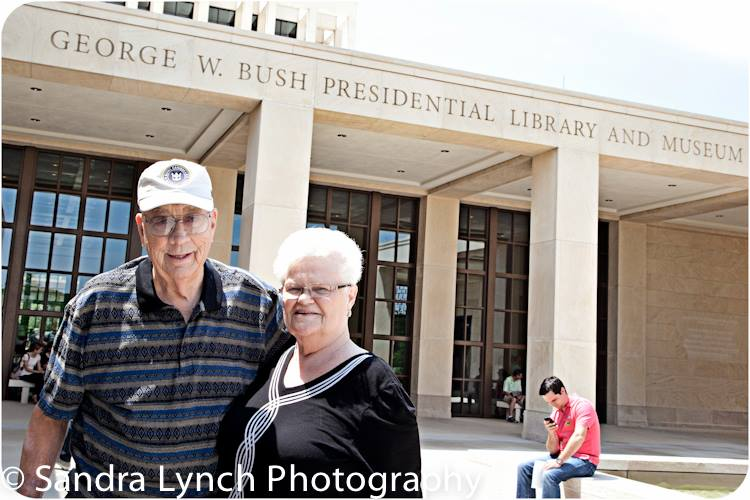 Mom & Dad Bush Library