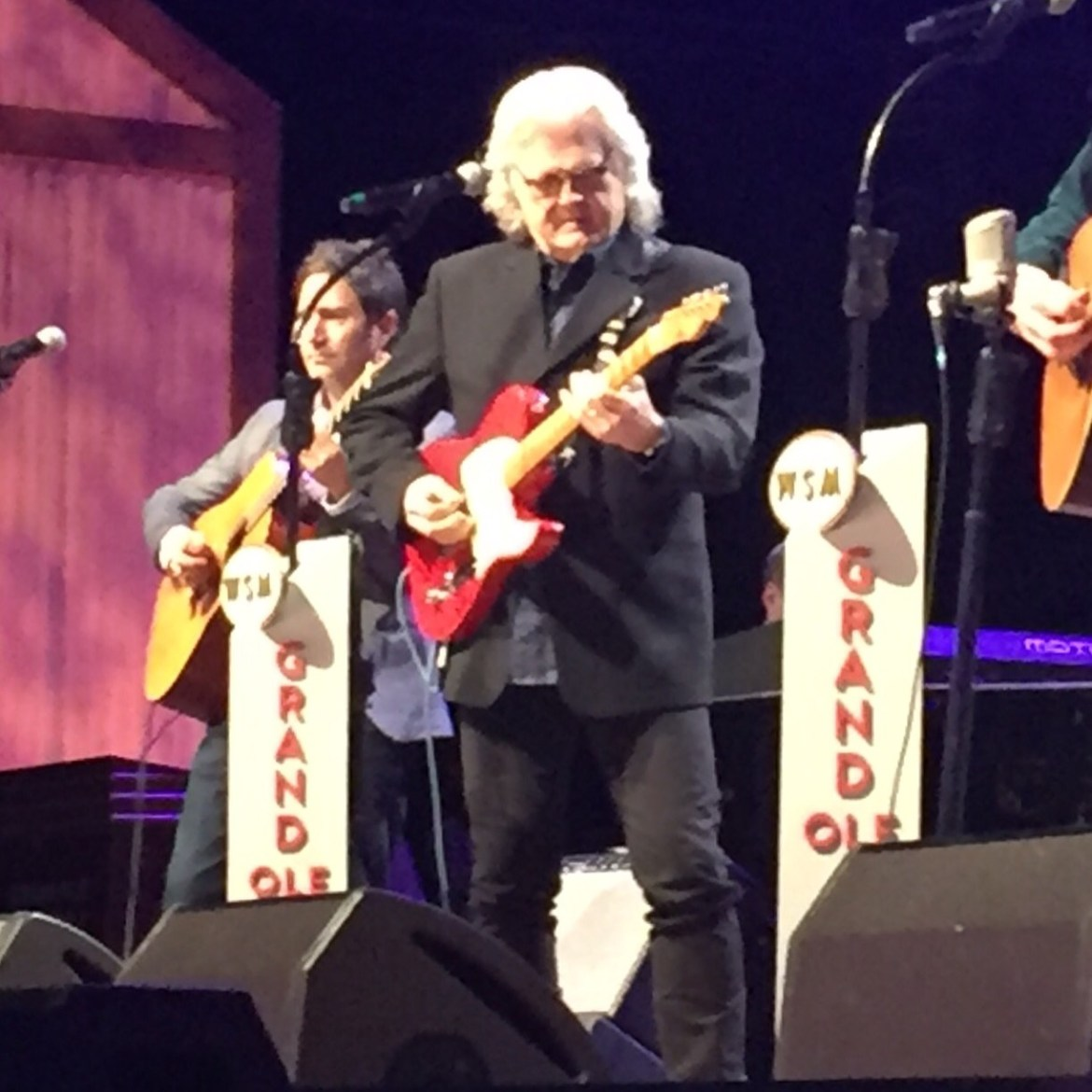 Ricky Skaggs, one of the many performers at The Grand Ole Opry