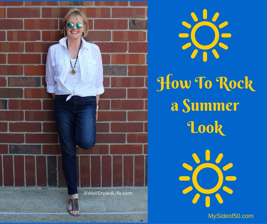 Fashion Bloggers Rock A Summer Look