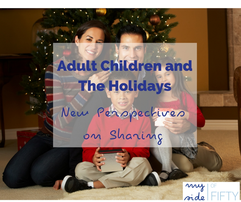 Author Doreen Mcgettigan shares how her holiday plans and perspective have grown and changed since her adult children began to get married and have children