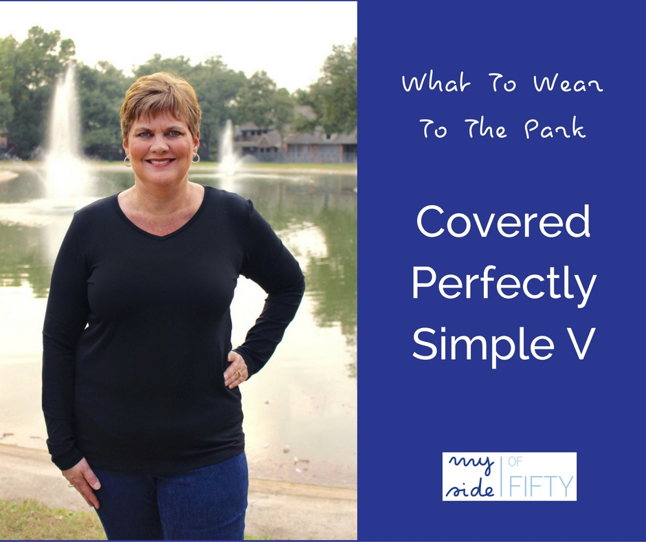 What To Wear To The Park | The Simple V From Covered Perfectly