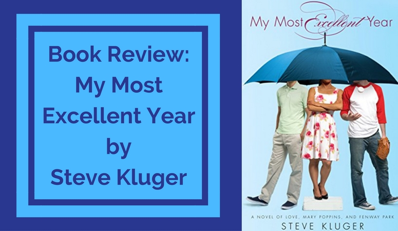 Review of My Most Excellent Year by Steve Kluger. Coming of age story of 3 Boston teenagers as they experience first love, accepting their sexuality, the loss of a parent and commitment.