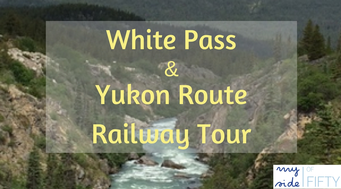 Highlights of the White Pass and Yukon Route Railway Tour which was a shore excursion on our Alaskan Cruise. Includes time at Yukon Suspension Bridge. #alaskancruise #shoreexcursion