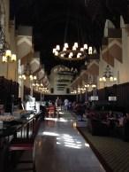 The Rockefeller-Mathey dining hall, a.k.a. Hogwarts