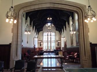 The Rockefeller common room