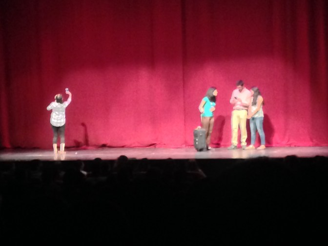 An Indian comedy group