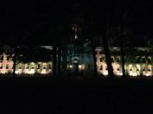 Nassau Hall at night