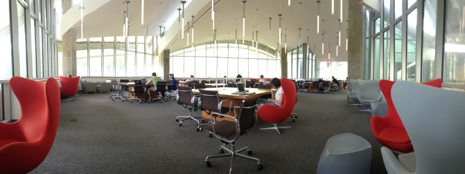 The Treehouse in Lewis Library