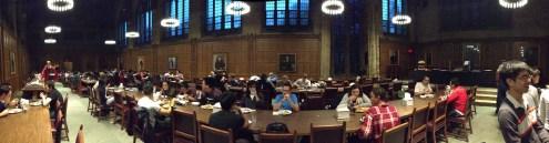 Graduate school dining hall