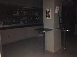 Bar in the basement of the Graduate School